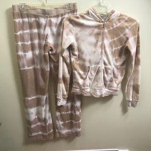 Vintage JUICY COUTURE tie dye Suite hoodie Pants